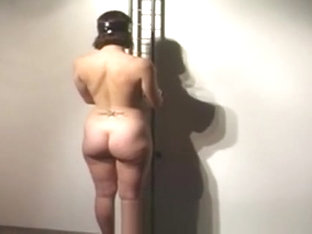 Hot Redhead Gets Naked And Tied Up In Hot Bondage Action!