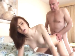 Step Daughter Fucked Grandfather Teen Blowjob Cumshot