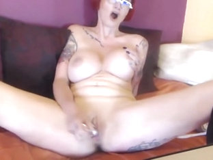 Classy Tatted French Housewife Pipa Moore With Big Tits