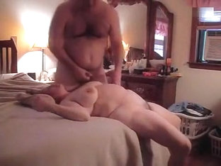 Horny Hubby Cannot Stop Banging His Busty Wife Missionary Style