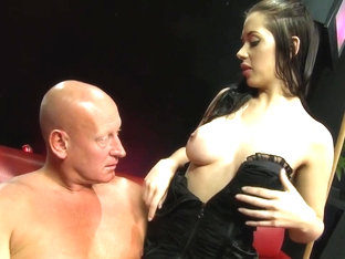 Fabulous Pornstar In Amazing Big Tits, Lingerie Sex Clip