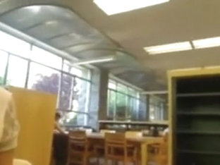 Coed Squirts In The Library