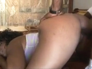 Voluptuous Ebony Slapper Deep Stroked