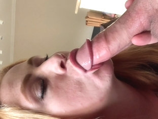 Slurping And Gagging On Daddys Dick