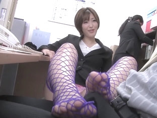 Fabulous Japanese Chick In Amazing Footjob, Hd Jav Movie