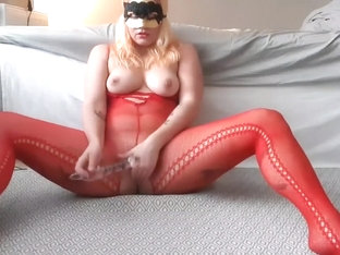 Fan Request! Anal Play In Fishnet Bodystocking! Fucking My Ass Until I Come