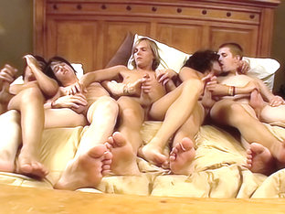 Five Twink Boys Get It On - Asher, Brenden, Dillon, Kyros And Kayden - Exposedemos
