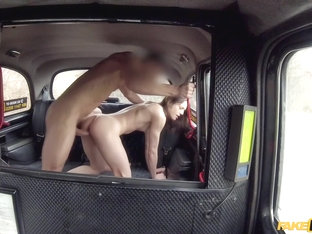 Lutro Steel & Rachel Adjani In Hard French Fucking Rocks Taxi Cab - Faketaxi