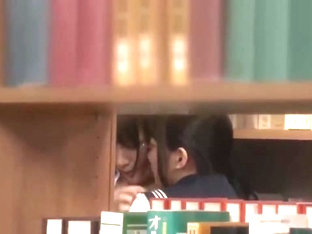 Asian Schoolgirl Seduces Teacher In Library