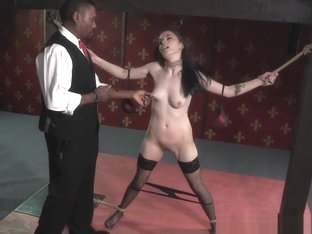 Bound Spex Sub Clamped By Black Maledom