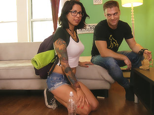 Vyxen Steel In Couch Surfing - Pegasproductions