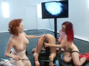 Ass Up Sensory Deprivation Electro Dp!!