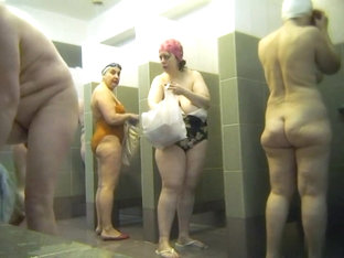 Hot Russian Shower Room Voyeur Video  55