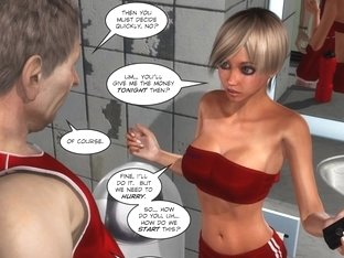 3d Comic: The Trainer