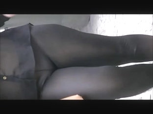 Pawg Frontal See Through Panties In Spandex
