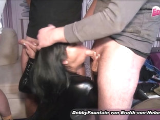 German Mature Sexparty With Asian Deepthroat