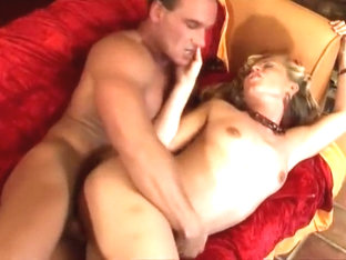 Older Blonde Bimbo With A Pierced Cunt Takes It From Her Boss