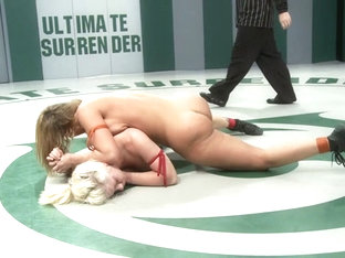 Mellanie 'the Cowgirl' Monroe (1-3)vs Holly 'the Hit Man' Heart (0-2) - Publicdisgrace