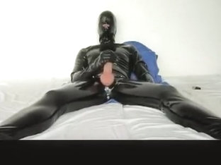 Wanking In Latex